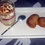 recette panna cotta vanille  mandarine et coulis de fraise