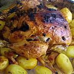 recette Poulet rôti olive citron