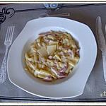 recette Macaroni à la carbonara façon risotto