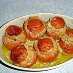 recette TOMATES FARCIES AU JAMBON BLANC