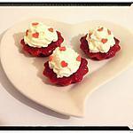 recette financier girly à la fraise chantilly
