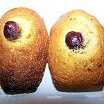 recette Madeleines Sesame et Coeur de Noisette