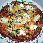 recette CLAFOUTIS AUBERGINE ET CHEVRE