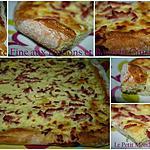 recette °° Tarte fine aux lardons et au Boursin °°