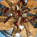 Manchons de canard confits et toasts au foie gras