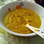 recette Petite soupe du soir pour bébé d'amour