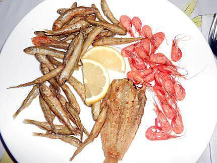 Petite friture (après les crevettes) 430