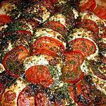 recette Tian de légumes mozzarella