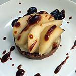 recette tarte capricieuse aux poires