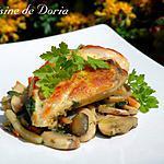 recette Poulet aux champignons