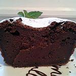 fondant italien au chocolat