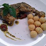 cuisses de poulet au pistou