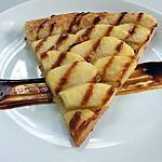 recette tarte aux pommes et beurre salé, sauce au caramel onctueux
