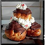 recette choux à la chantilly et nutella