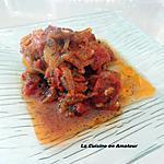 recette Hauts de cuisse de poulet en papillote
