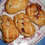 recette Petits pains aux lardons