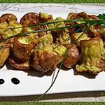 recette Bouchées aux fines herbes
