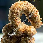 recette Croissants aux cacahuetes et au miel