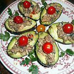recette Avocat aux sardines