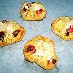 recette Feuilletés tomate ricotta chorizo