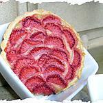 recette Ooo Tartelette aux fraises & à la compotée de rhubarbe ooO