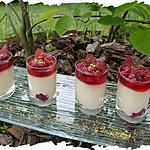 recette Ooo Verrines coco & fruits rouges ooO