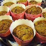 recette Muffins aux bananes et aux noix