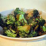 recette Broccoli sauce aux huîtres (recette chinoise)
