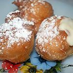 recette Beignets soufflés à la crème
