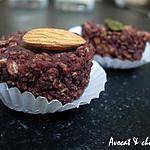 recette Bouchée de Granola ,Avoine, Fruits Secs &  Chocolat au Quinoa