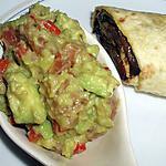 recette Wrap aux légumes grillés à la plancha