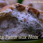 recette °° Petits pains aux noix au robot°°