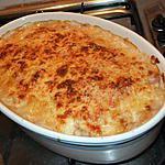 recette Gratin de chou-fleur aux saucisses
