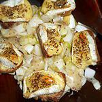 recette Salade d endives aux croutons de coulommiers