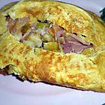 recette Omelette picarde