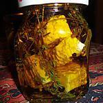 recette petits fromages de chévre FRAIS mariné a l huile d olive de MARYLINE H