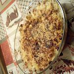recette choux fleurs à la béchamel gratiné au four