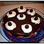 recette moelleux au chocolat blanc et sa ronde d'abricot
