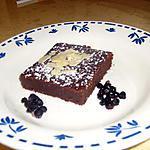 recette Tentation au chocolat noir et caramel beurre salé