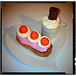 recette éclaire fraise Tagada ®