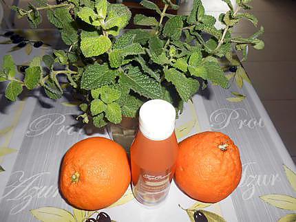 Oranges caramel menthe 430