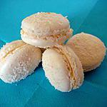 recette Macarons coco