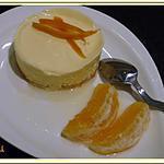 recette Entremets glacés à l'orange