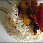 recette Riz aux 3 Poivrons