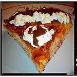 recette gâteau au fromage blanc amandes-abricot et sa sauce carambar
