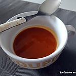 recette Soupe aux poivrons