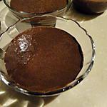 recette Petites crèmes bananes-chocolat au tofu soyeux