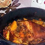 recette Jarret de porc au miel