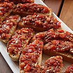 recette Bruschetta aux tomates