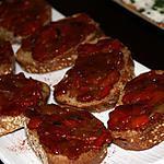 recette Bruschetta aux poivrons grillés